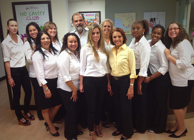 Staff with Flamingo Pediatric Dentists in Pembroke Pines, FL